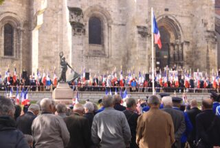 Commémoration sur la place du marché
