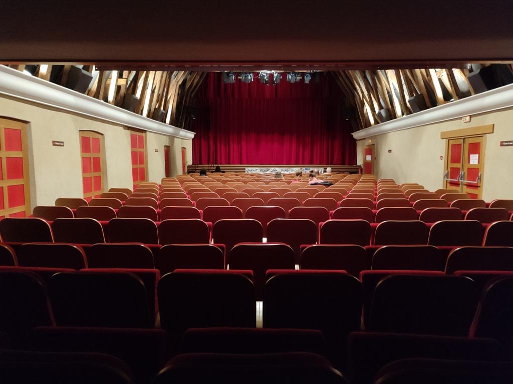 Salle du théâtre des Bénédictins